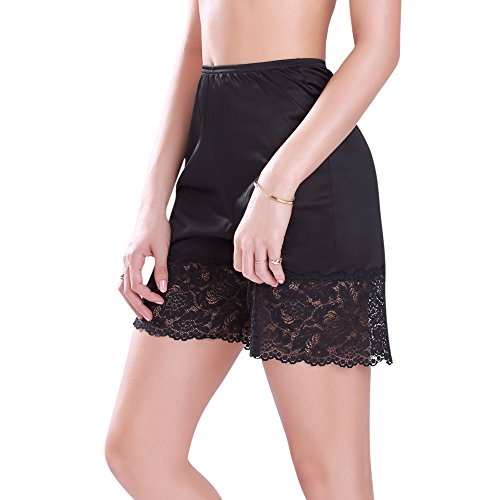 Ilusion Everyday Comfort Pettipant Slip Black Small (18 inch)